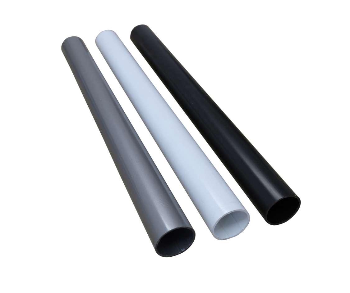 modular shelving round pipes